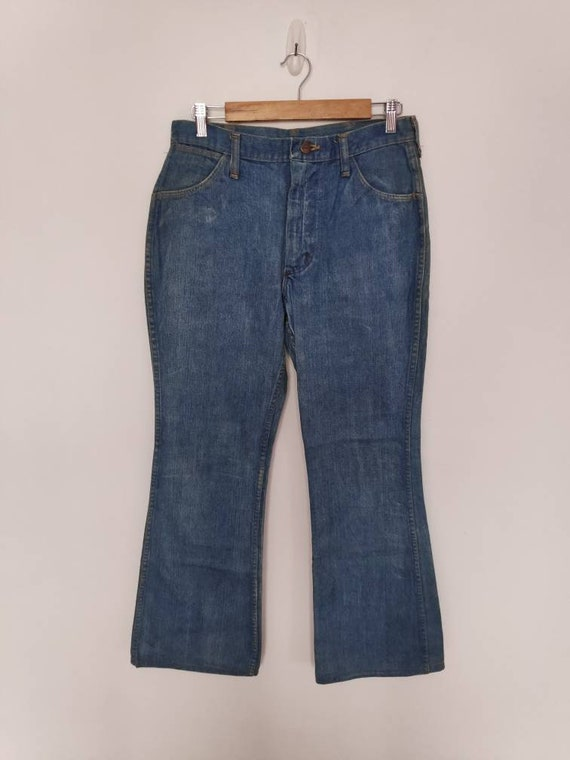 Sale!! Vintage 80s Maverick Denim Blue Cowboy Jean