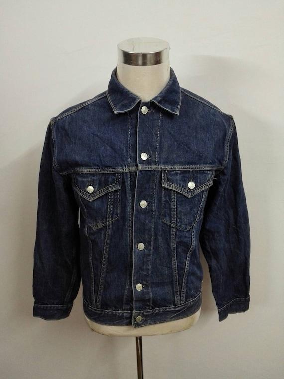 Sale!!! Vintage Bigstone Denim Jacket Indigo denim