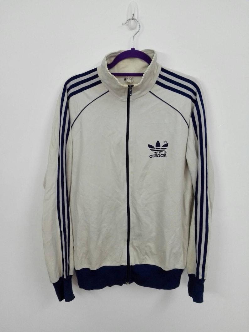 39fff4ec9985b Sale!! Vintage 90s Adidas Three Stripes Line Jacket Sweater Casual  Activewear Size Large