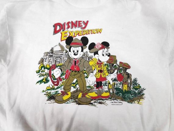 Sale!! Rare!! Vintage 80s Mickey Mouse Disney Exp… - image 3