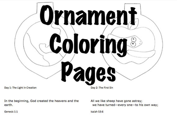 Advent Jesse Tree Coloring Pages Sale Etsy - Jesse-tree-coloring-pages