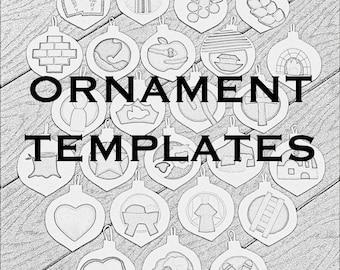 Jesse Tree Ornament Templates/Tutorial- SALE