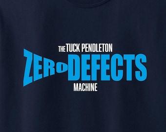Innerspace (1987) inspired Tuck Pendleton Machine Zero Defects Tee