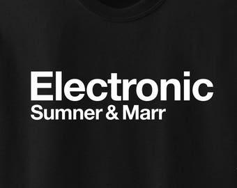 Electronic (Band) / Bernard Sumner & Johnny Marr tee