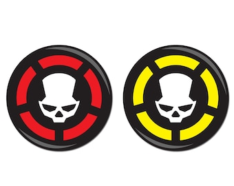 Gone Rogue / Manhunt 25mm Badges inspired by The Division (2 x badges)