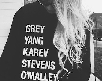 Grey Yang Karev Stevens O'Malley Christina and Meredith It's a beautiful day to save lives anatomy youre my person gift for women girlfriend