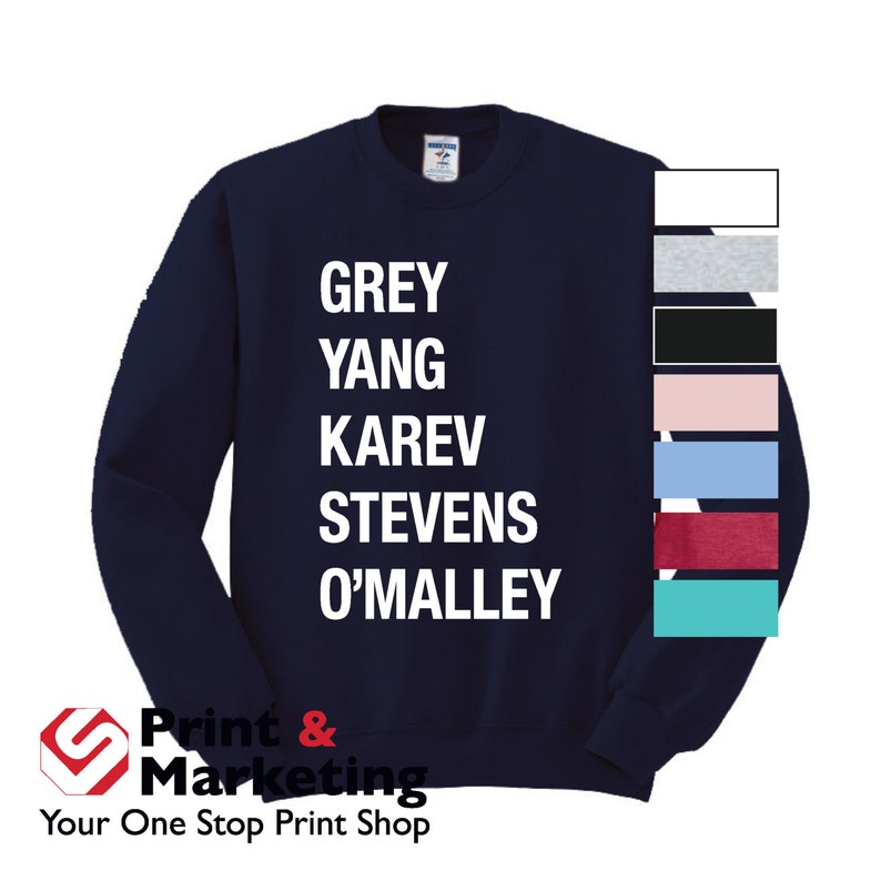 Grey Yang Karev Stevens O'Malley Thursdays We Watch image 0