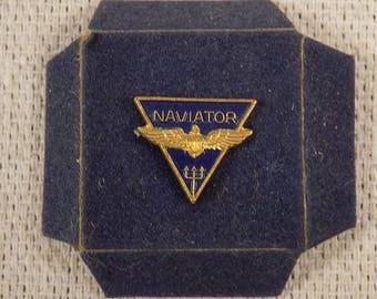 ca. 1970s-90s Naval Pilot Lapel Pin - Northrop Aviation
