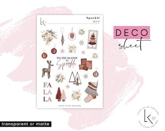 Deco Sheet  ||  December Sparkle