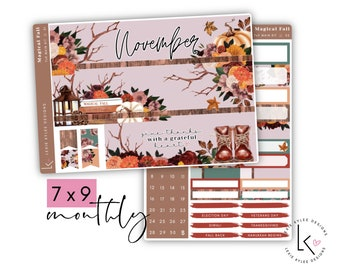 REFORMAT*  7x9 Monthly  ||  November Magical Fall