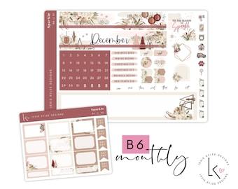 B6 Monthly  ||   December Sparkle
