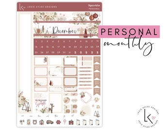 Personal Monthly  ||   December Sparkle