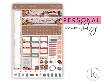 Personal Monthly  ||   November Magical Fall
