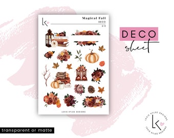 Deco Sheet  ||  Magical Fall
