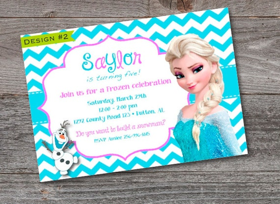 picture relating to Frozen Birthday Card Printable identify Frozen Birthday Invitation -PRINTABLE -Elsa Ana -Custom made -Ana -Elsa -Lady Birthday -Frozen -Olaf -Frozen Birthday -Frozen Invitation