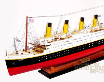 titanic model etsy