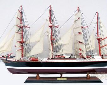 "Handcrafted Sedov ship model 37"""