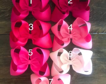 Solid colored Hair Bow