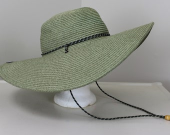 f3cbaed57efc0 Columbia Wide Brim Straw Hat One Size Green Beach Gardening