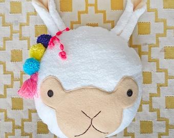 Llama cushion PDF sewing pattern