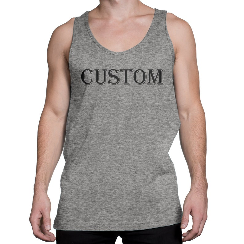 58df0d8cff30a custom tank top for men, personalized this premium tank top with your logo,  design, photo for any events