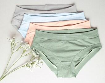 7b2bd4b2fd8 Womens Briefs   Organic Lingerie   Bamboo Lingerie   Women s Organic  Underwear   Valentine s Gift   Eco-Dyed Underwear   MADE TO ORDER