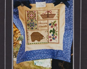 ENTWINED ELEGANCE, Simply Stephie UNOPENED counted cross stitch pattern with instructions