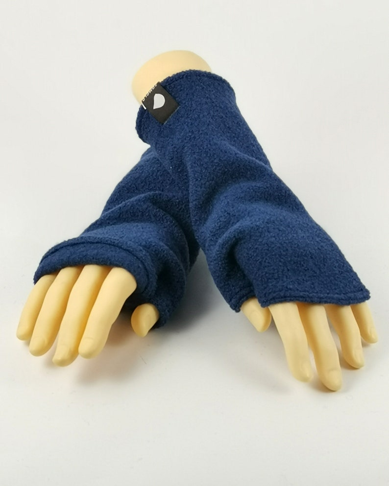 Arm warmers Arin Blu (F)