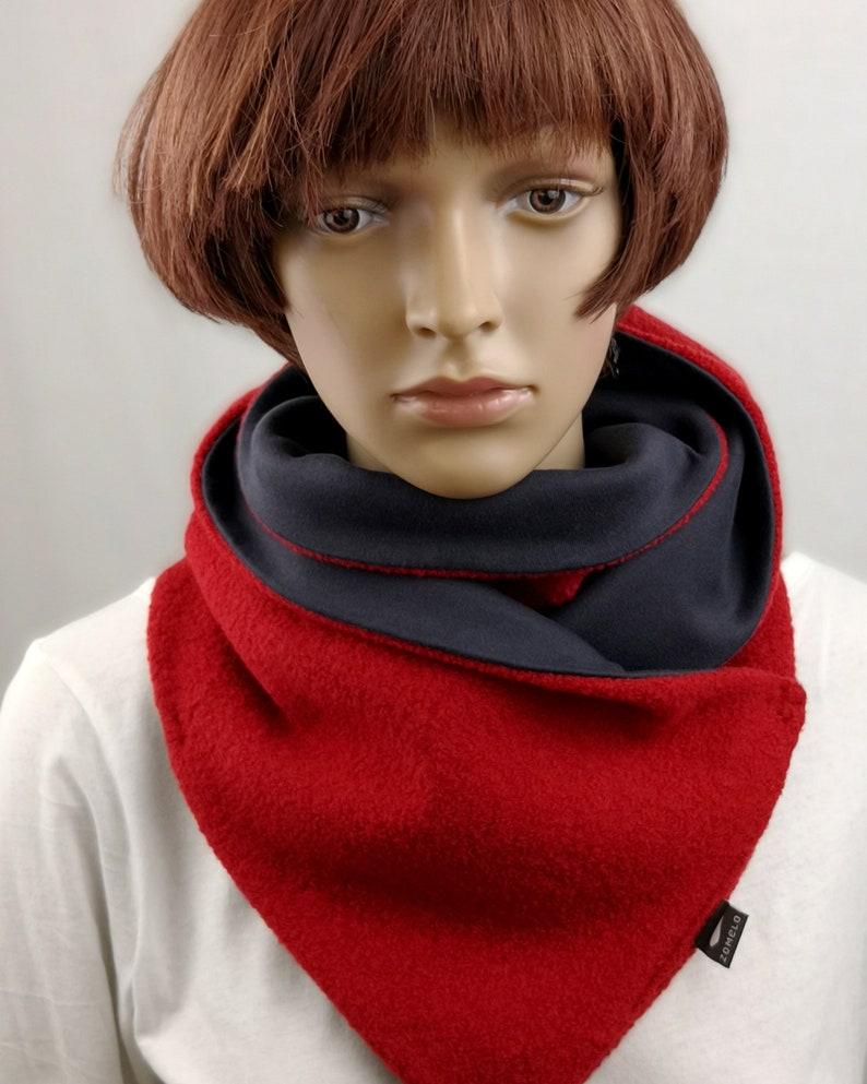 Loop scarf Gloria for men and women image 0