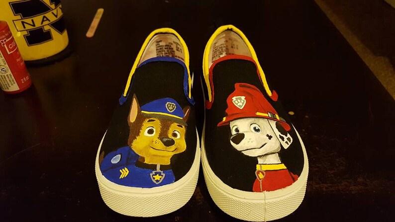 9f6772aac1a2e0 Custom Paw Patrol shoes Childrens