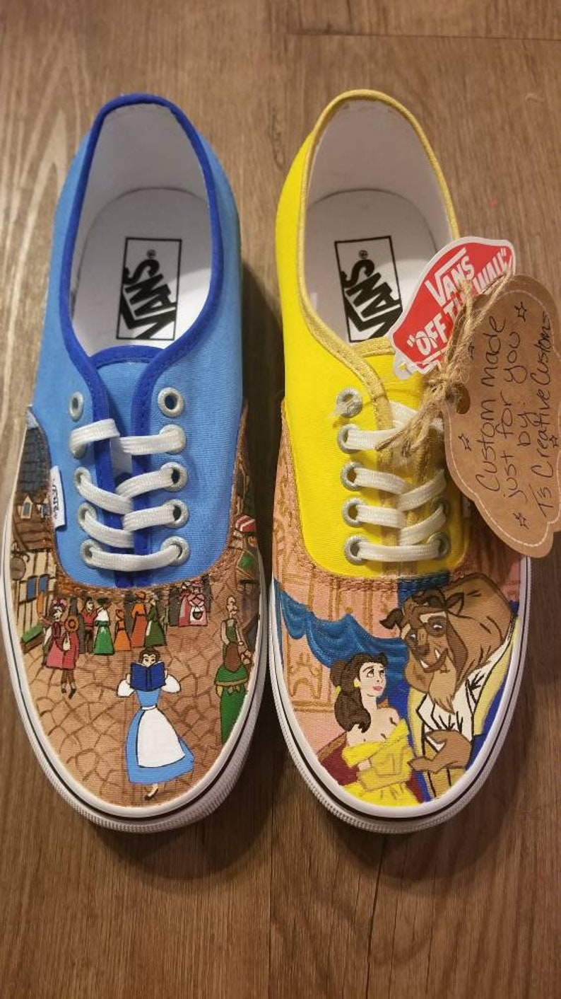 307a1238bab39a Custom Painted Vans CHILDREN