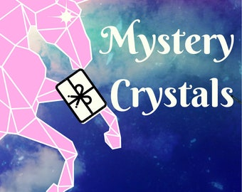 Mystery Box Gemstones and Crystals, 3 Large Gemstones for Home Decor, Fun Gifts, Office Decor - What Gemstones Will You Get?