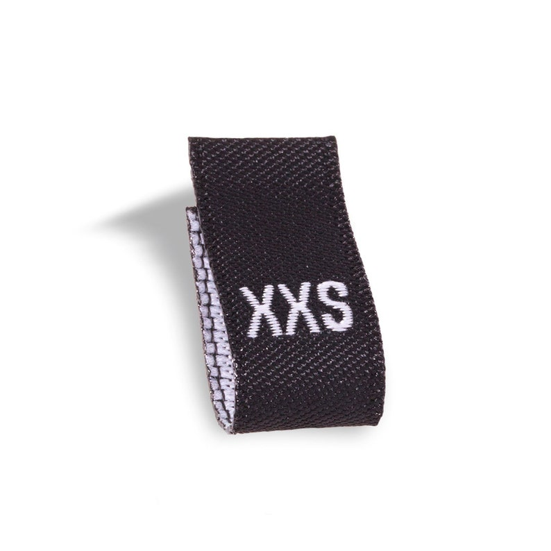 30ccae7372bc Wunderlabel Adult Size Label Woven Tabs Fashion Ribbons Small Tags Apparel  Infant Children Baby Clothing DIY Sewing Sew On Clothes Garment