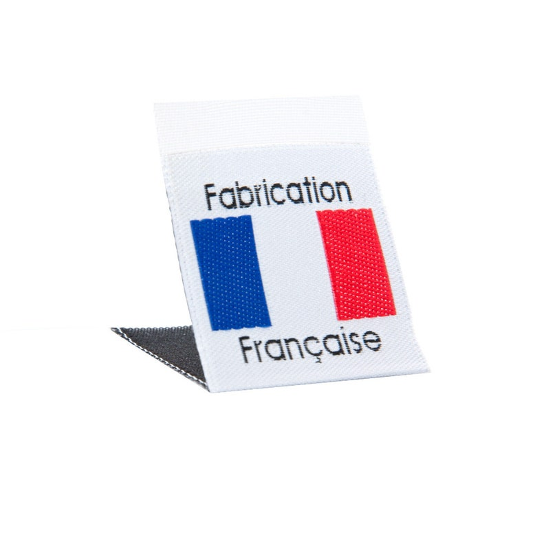 d13494dd9b54 Wunderlabel France French Flag Sew On Woven Damask Labels Tag Country  Fabric Craft Art Small Ribbons Sewing Clothing Clothes Garment Apparel