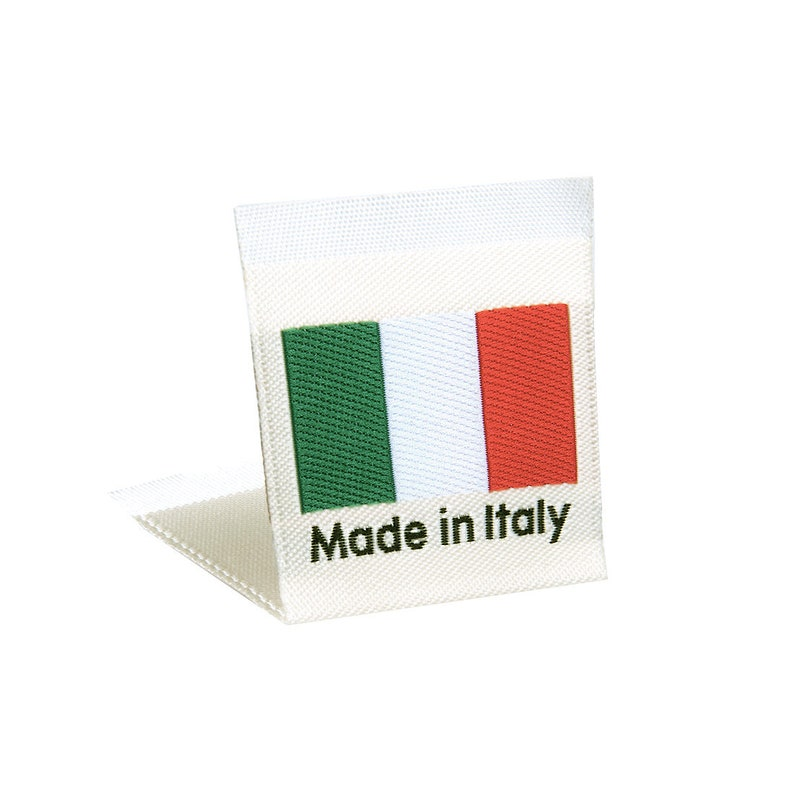 2e847af5ce4d Wunderlabel Made in Italy Italian Flag Sew On Woven Labels Tag Fabric Craft  Fashion Small Ribbon Clothing Sewing DIY Clothes Garment Apparel