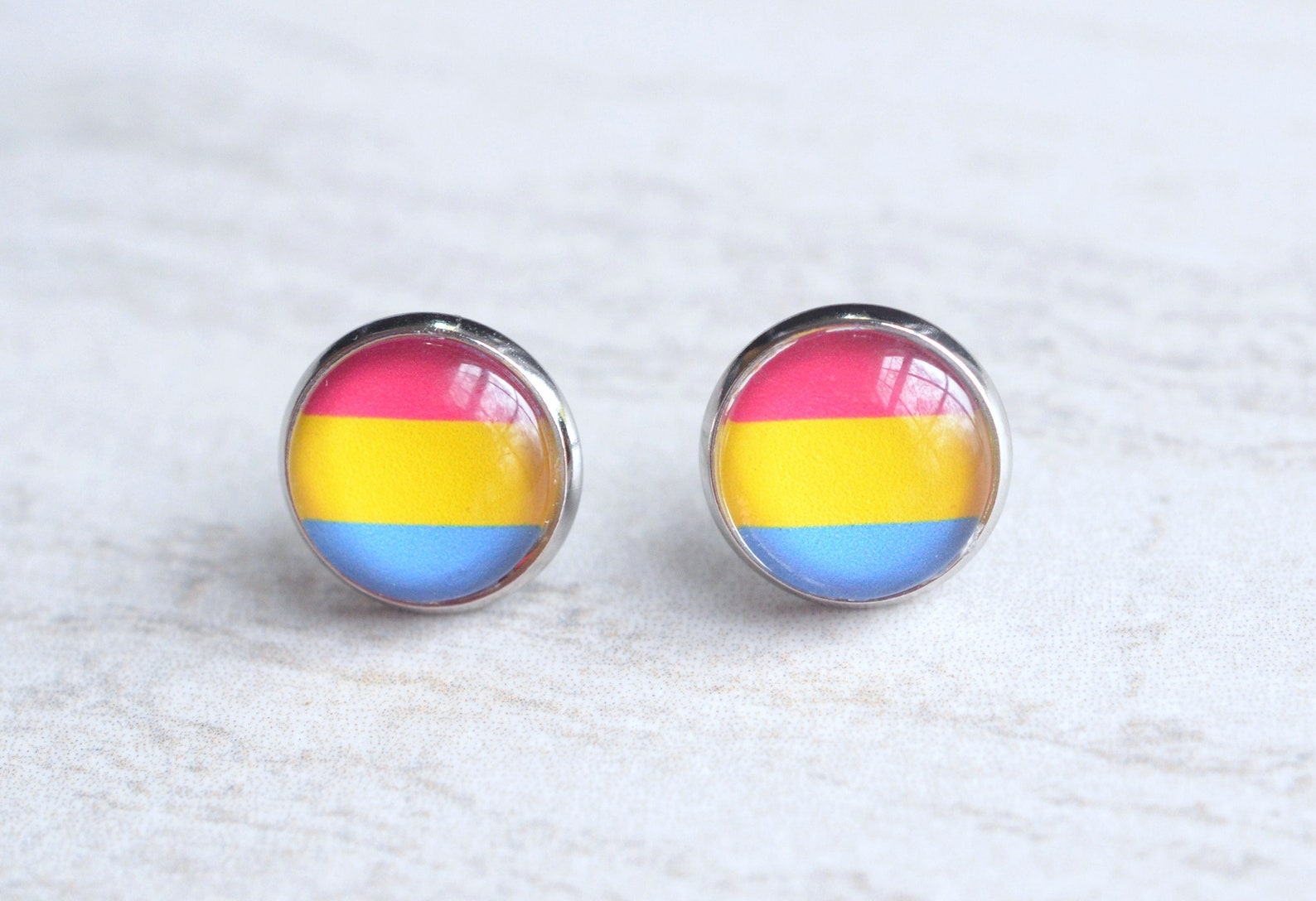 Pin on hoop earrings