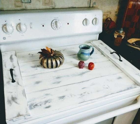 Asst Colors Primitive Vintage Farmhouse Stove Top Noodle Board Oven Cover