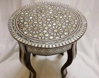 Moroccan Table Etsy - Moroccan outdoor coffee table