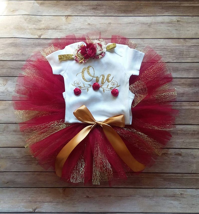 b9249471db Burgundy 1st Birthday Girl Outfit CUSTOMIZABLE Outfit Girls