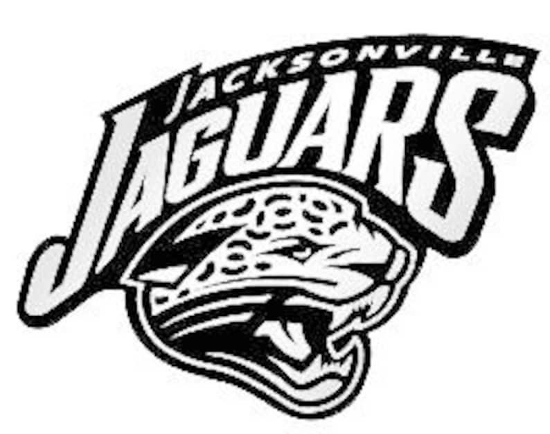 3aed9c0e Jacksonville Jaguars NFL logo football sport vinyl sticker decal 057