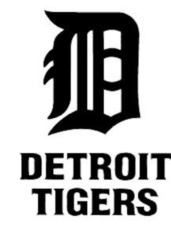 Detroit Tigers Mlb Bedroom Original Room Decor Sticker Garage Etsy