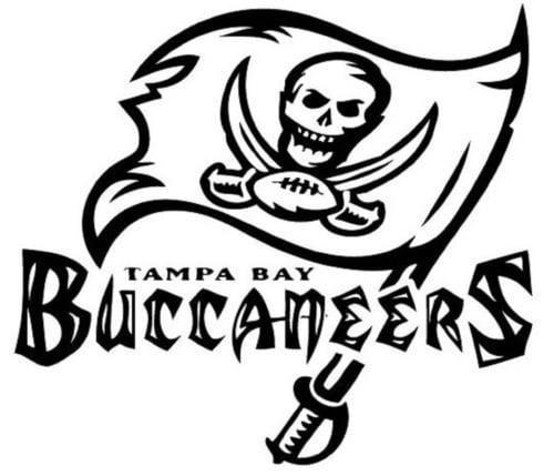 Tampa Bay Buccaneers NFL football sport logo vinyl sticker  357a84b7ff5