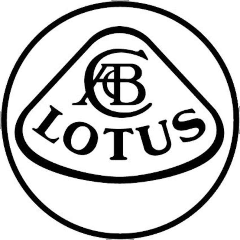 Lotus Car Logo Sticker Vinyl Decal Wall Art 157
