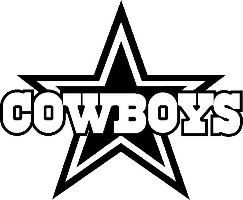 1d631606 Dallas Cowboys football team logo wall decal vinyl sticker 040