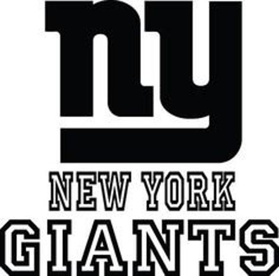New York Giants Logo Sticker Wall Decal Vinyl Sticker 082