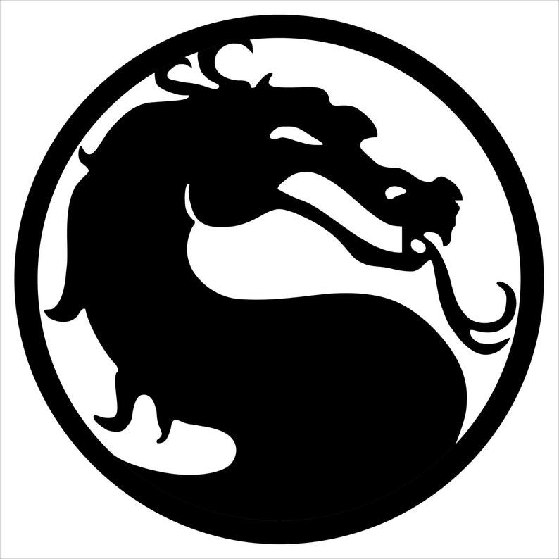 Mortal Kombat Logo Game Fans Ps3 Xbox Original Unique ...