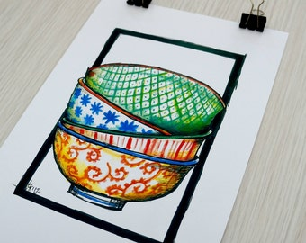 Bowls print