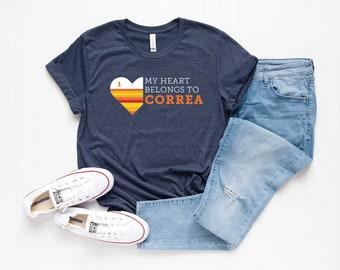 af43e4632 My Heart Belongs To Correa Shirt - Houston Astros Shirt - Astros Shirt -  Carlos Correa Shirt