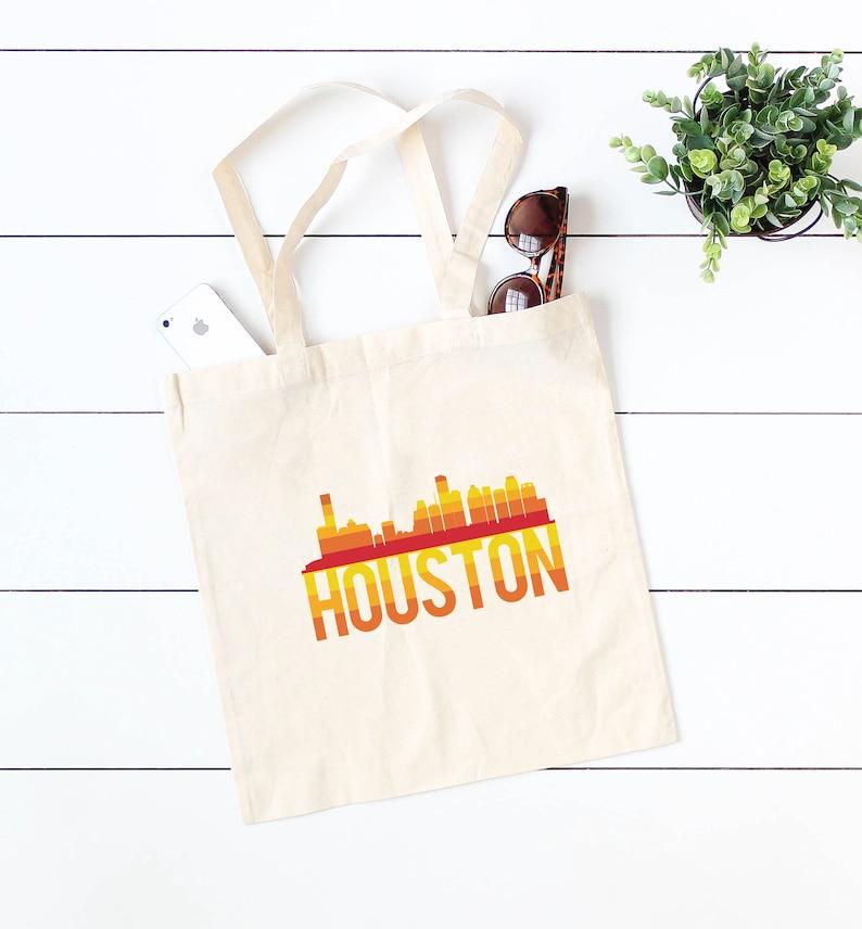 Astros Shirt Houston Astros Tote Astros Retro Tote Bag Houston Retro Bag Houston Texas Bag Texas Love Tote Astros Retro Skyline