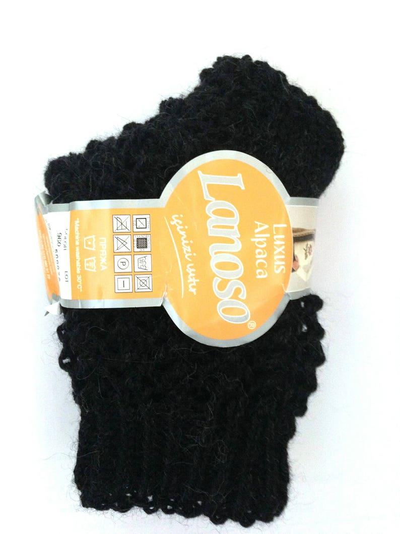 Alpaca socks Alpaca wool socks Baby alpaca socks Eco friendly Openwork socks Lace socks Gift for her Fishnet socks Black socks Anti allergic